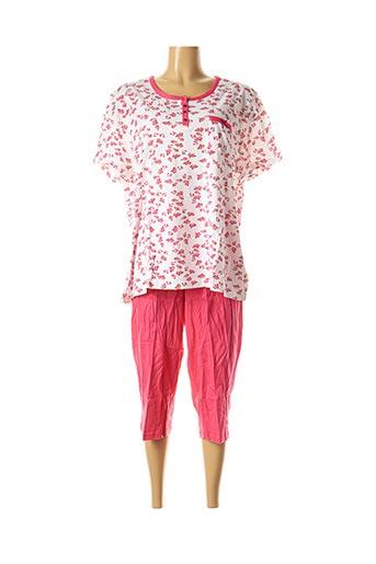 Pyjama rose DAMART pour femme