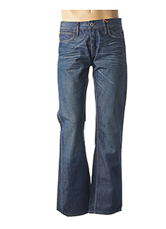 Jeans coupe droite bleu FIRETRAP pour homme