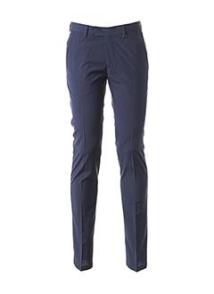 Pantalon chic bleu JOHN BARRITT pour homme