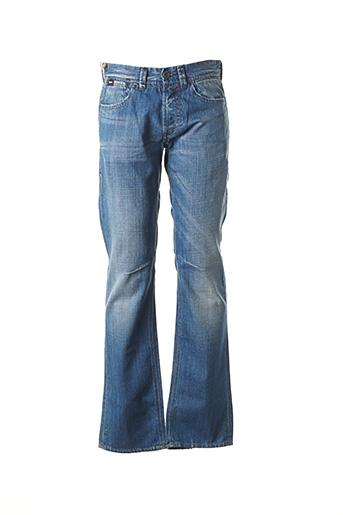 Jeans coupe droite bleu GAS pour homme