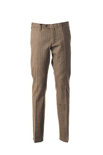 Pantalon chic marron AT.P.CO pour homme