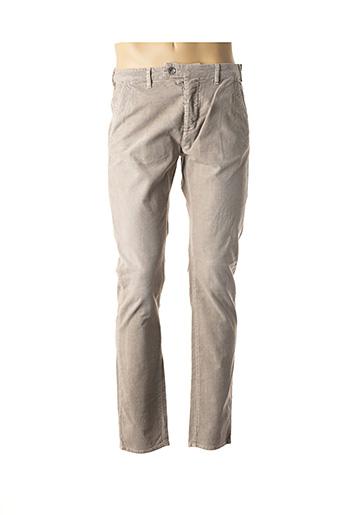 Pantalon casual gris GAS pour homme