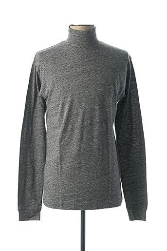 T-shirt manches longues gris BILL TORNADE pour homme