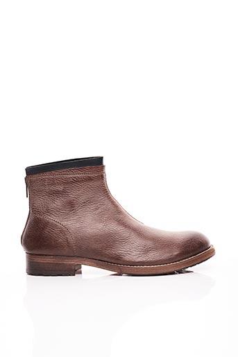 Bottines/Boots marron AREA FORTE pour homme