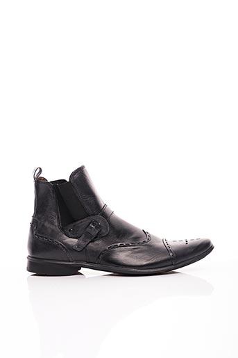 Bottines/Boots noir JOSE REIS pour homme