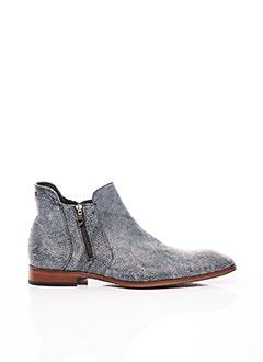 Bottines/Boots bleu GIANNI EMPORIO pour homme