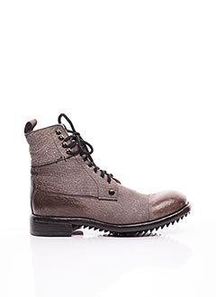Bottines/Boots gris LEMARGO pour homme