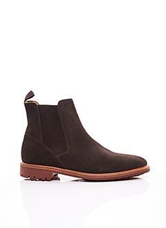 Bottines/Boots marron CORDWAINER pour homme