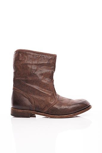 Bottines/Boots marron JO GHOST pour homme