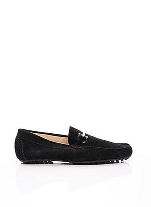 Chaussures bâteau noir ERIC FILLIAT pour homme