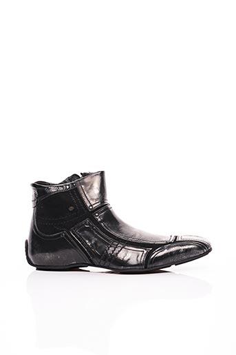 Bottines/Boots noir BUNKER pour homme