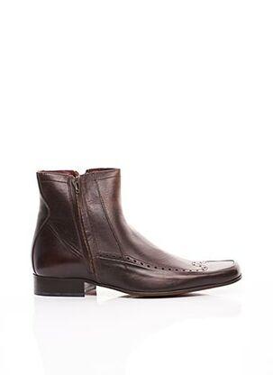 Bottines/Boots marron FRANK WRIGHT pour homme