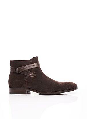 Bottines/Boots marron PAUL & JOE pour homme