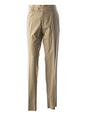 Pantalon casual beige GIANNI MARCO pour homme seconde vue