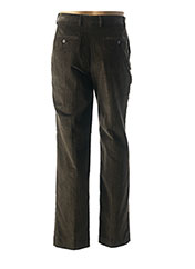 Pantalon casual marron LUCAN pour homme seconde vue