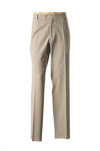 Pantalon casual beige GIANNI MARCO pour homme