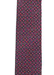Cravate rouge FRED GIL pour homme seconde vue