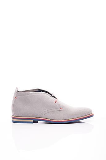 Bottines/Boots gris ARTON SHOES pour homme