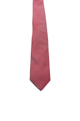Cravate rouge DANIEL HECHTER pour homme