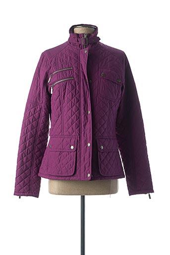 Blouson violet BARBOUR pour femme