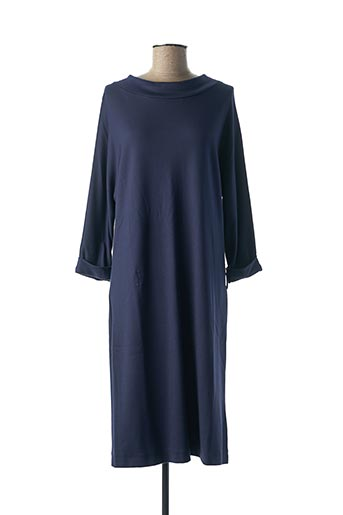 Robe mi-longue bleu ALIZARINE pour femme