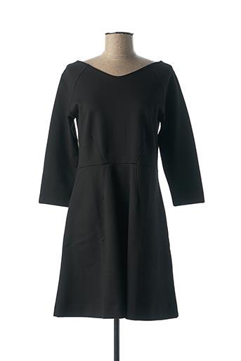 Robe mi-longue noir GANT pour femme