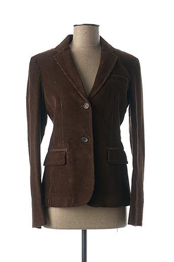 Veste casual marron RALPH LAUREN pour femme
