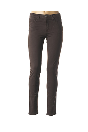 Pantalon casual marron EMMA & CARO pour femme