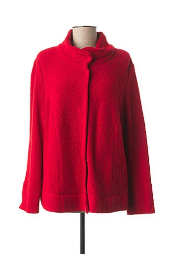 Veste casual rouge EUGEN KLEIN pour femme