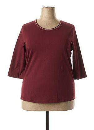 T-shirt manches longues violet BASLER pour femme