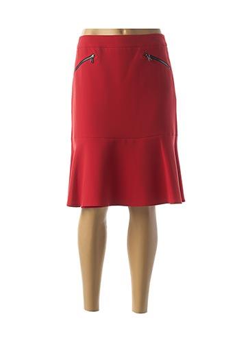 Jupe mi-longue rouge GERRY WEBER pour femme