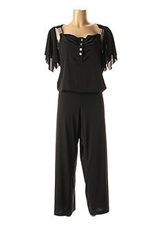 Combi-pantalon noir GIANI F pour femme