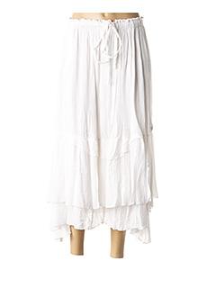 Jupe longue blanc ALAIN MURATI pour femme