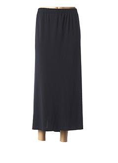 Jupe longue bleu CHALOU pour femme