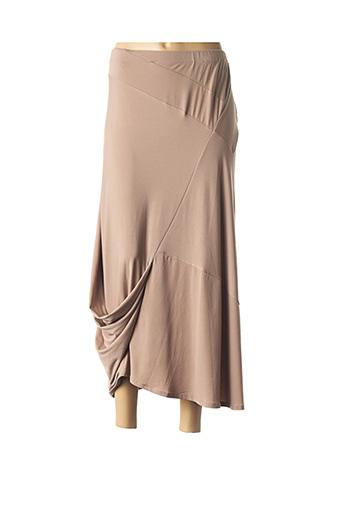 Jupe longue marron ALAIN MURATI pour femme