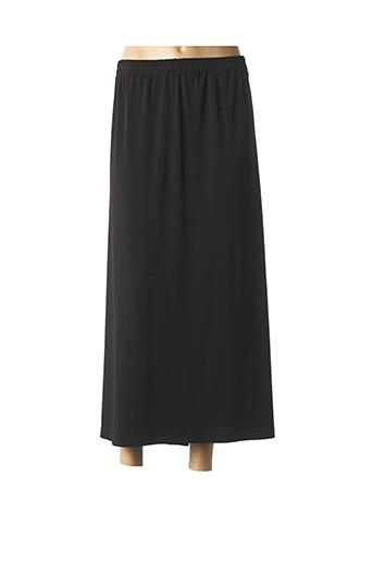Jupe longue noir CHALOU pour femme