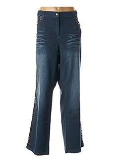 Jeans coupe droite bleu GIANI F pour femme