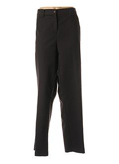 Pantalon casual noir GIANI F pour femme