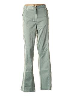 Pantalon casual vert GIANI F pour femme