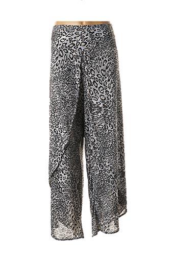 Pantalon casual gris EDMOND BOUBLIL pour femme