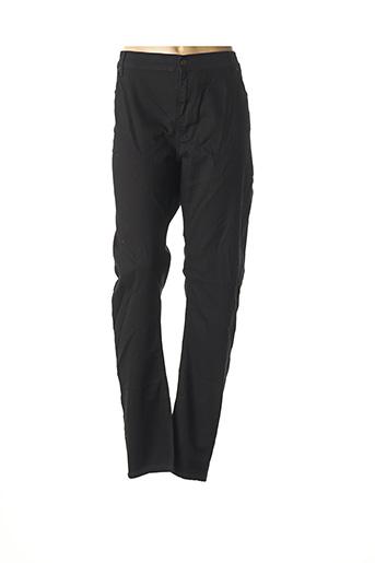 Pantalon casual noir CHRISTIAN MARRY pour femme