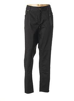 Pantalon casual noir VETO pour femme