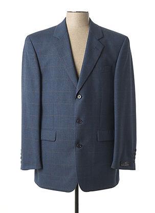 Veste chic / Blazer bleu BRUNO SAINT HILAIRE pour homme