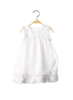 Robe longue blanc PASSANELA pour fille