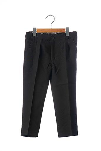 Pantalon chic noir ESTHER pour garçon