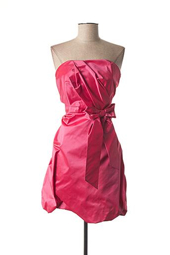 Robe mi-longue rose EMMA LA FOLIE pour femme