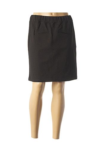 Jupe courte noir THALASSA pour femme