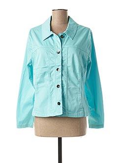 Veste casual bleu TELMAIL pour femme