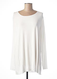 T-shirt manches longues blanc BETTY AND CO pour femme