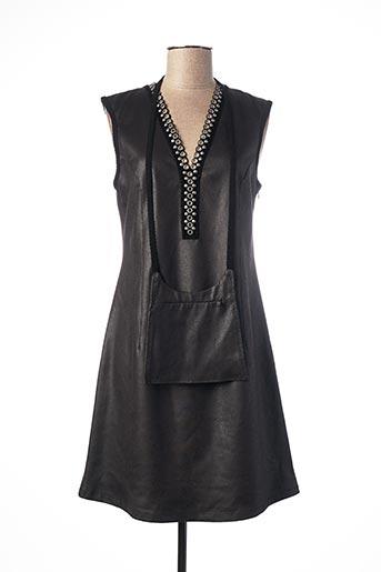 Robe mi-longue noir LO! LES FILLES pour femme
